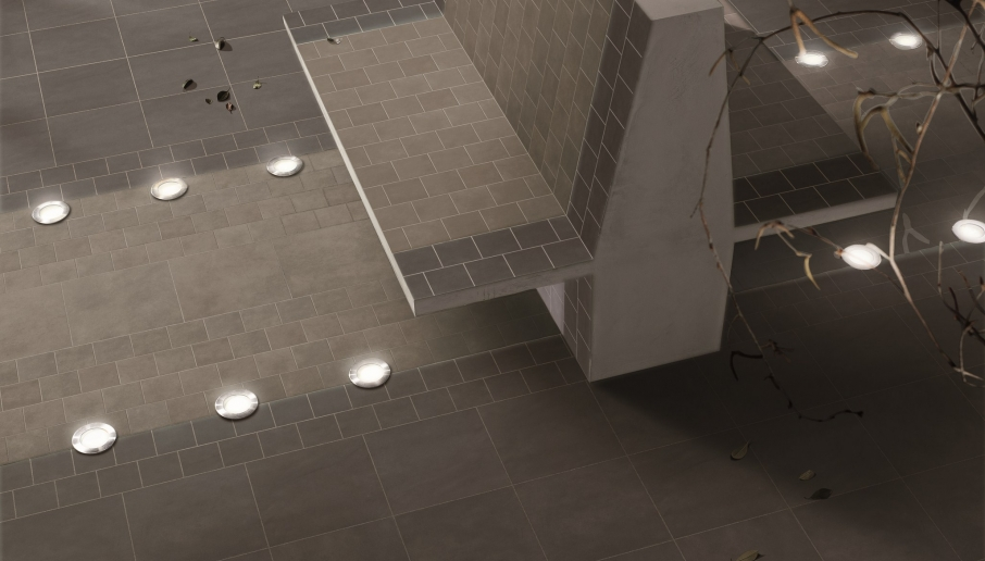CARRELAGE DESIGN AVEC LED
